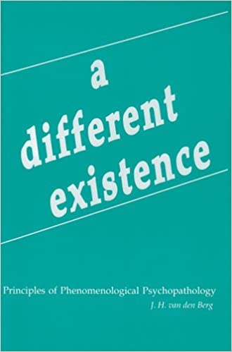 Amazon a different existence principles of phenomenological amazon a different existence principles of phenomenological psychopathology 9780820702445 j h van den berg books fandeluxe Choice Image