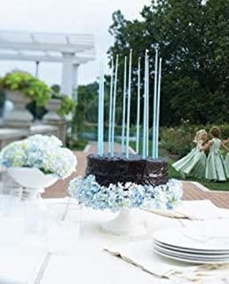 """product image for Creative Candles Celebration Candles (Set of 12), 15"""", Aquamarine"""