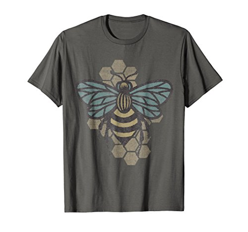 Retro Beekeeper T-Shirt - Vintage Save the Bees Bumblebee ()
