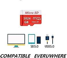 Pondisk - Tarjeta Micro SD (256 GB, Clase 10, Tarjeta Micro SD ...