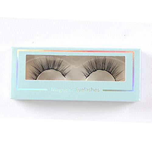 LAMIX Magnetic Eyeliner with Magnetic Eyelashes Kit 2 Styles False Eyelashes Pack