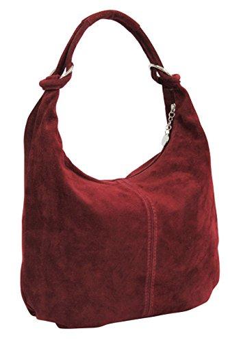 Large porter Bordeaux femme l'épaule à XX Sac à Moda pour AMBRA ZqnXazv