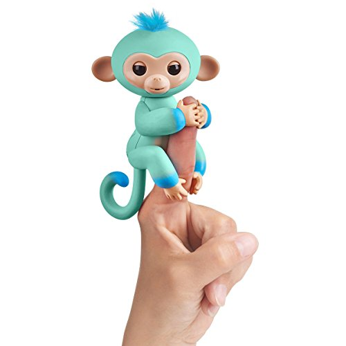 Fingerlings - Interactive Baby Monkey - Two Tone - Eddie