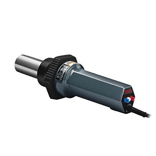 Steinel HG 5000 E Industrial Power Tool - 230 V heat gun with 28 cfm output, fully electronic temperature and airflow control, Intelligent motor and temperature control, LED temperature display showing selected and actual temperature, High Performance Heating Tool, long life brushless motor, 35012 ()