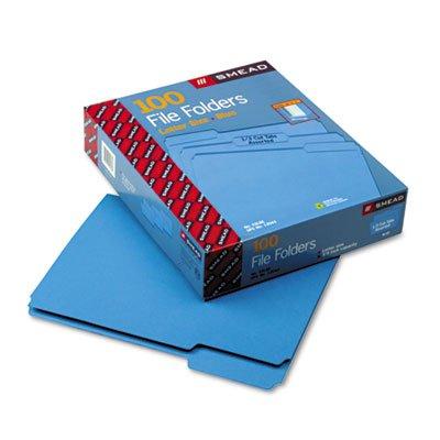 Smead-13-Cut-File-Folders-Letter-Size-100-Per-Box