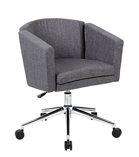 Table Metro Chrome (Boss Office Products Metro Club Desk Chair, Slate Gray)