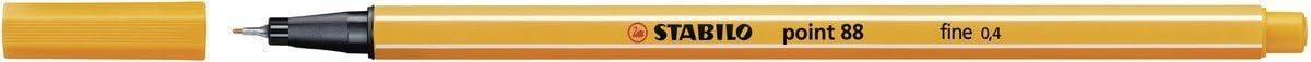orange 10er Pack STABILO point 88 Fineliner