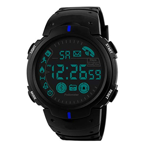 (Wrist Watch for Men Under 10❤Flagship Rugged Smartwatch 33-Month Standby Time 24h All-Weather Monitoring)