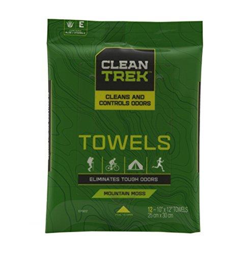 Clean Trek Body Towels (Pack of 12)