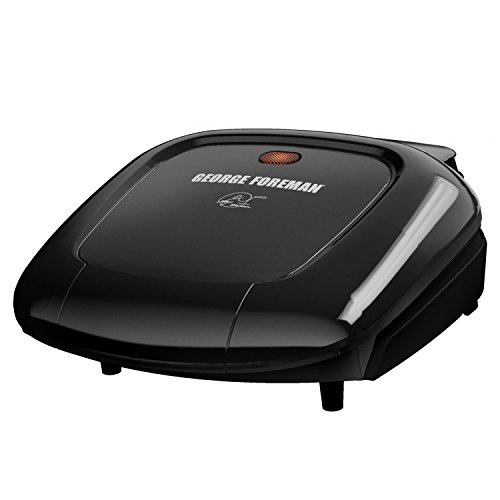 George foreman gr0040b 2 serving classic plate grill black buy online in uae kitchen - Buy george foreman grill ...