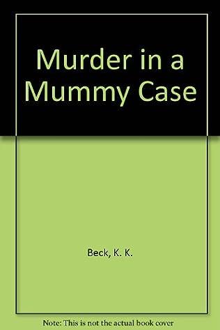 book cover of Murder in a Mummy Case
