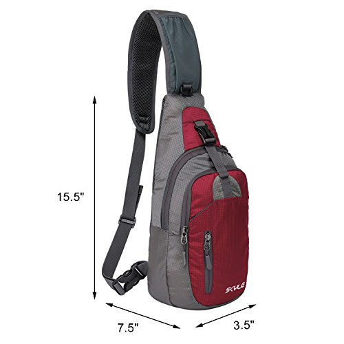 Skyle Sling Bag Backpack For 7 9 Ipad Mini Shoulder Chest Pack Unbalance Outdoor Crossbody Bag For Men And Women