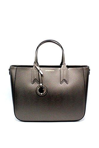 BAG Borse ARMANI Donna YH15A Y3D082 EMPORIO YH15A TOTE DANDELION Y3D082 Black 1Yqn4xC