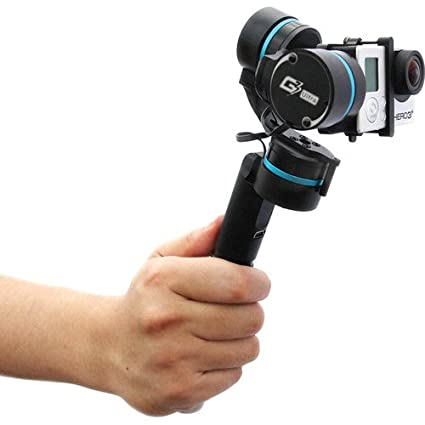 Feiyu G3 Ultra 3-Axis Handheld Gimbal for GoPro HERO 3/3+ and 4 (Black) Video Cameras Accessories at amazon