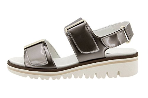Cuir Confort Femme Visón Chaussure Sandales PieSanto en à Amples Confortables Semelle Amovible 1777 gaIZAAWq