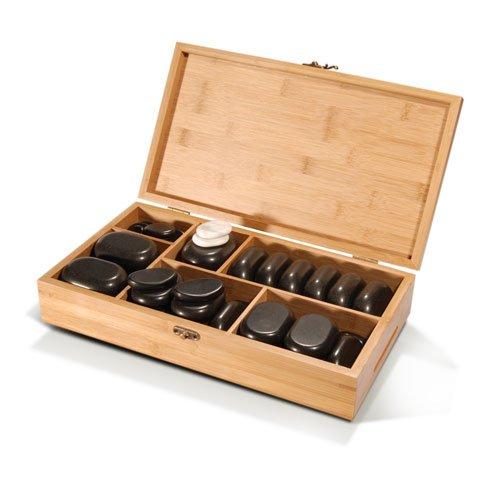 TAOline - Kit de pierres chaudes de 45 piè ces Bodynova GmbH
