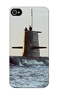 New Kathewade Super Strong Submarine Russian Military Weapons People Ocean Sea Ships Boats Sailing Tpu Case Cover Series For Iphone 5/5s