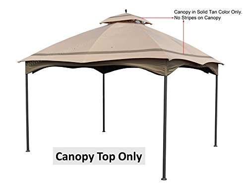 ALISUN Replacement Canopy Top for Massillon Biscayne 10' x 12' Gazebo Model #L-GZ933PST by ALISUN