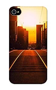 Appearance Snap-on Case Designed For Iphone 5/5s- Sunset In The City (best Gifts For Lovers)