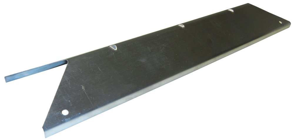 Music City Metals 94141 Stainless Steel Heat Plate Replacement for Select Better Homes and Gardens and Mission Gas Grill Models