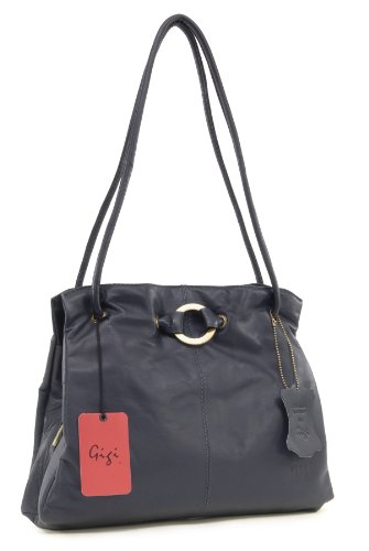 Shoulder Blue 4323 Dark Gigi Leather Othello Bag BwWd4U