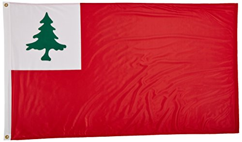 Us Flag Store Continental Superknit Polyester Flag, 3 by 5-F
