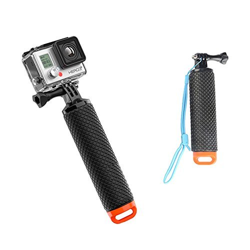Gopro Floating Stick , TFSeven ProFloat Waterproof GoPro Floating Hand Tripod Mount Floating Hand Grip With Thumb Screw and Adjustable Wrist Strap for GoPro Hero 2/3/3+/4 Action Sport Camera Mount