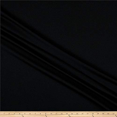Sportek International Swimwear and Intimates Lining Fabric, Black, Fabric By The Yard