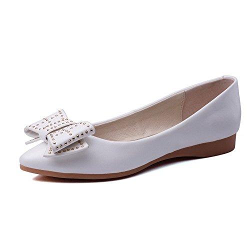 Tire Pointu Unie Femme Talon Agoolar Couleur Chaussures Non w4xvqRY5I