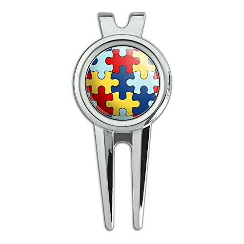 Graphics and More Autism Awareness Diversity Puzzle Pieces G