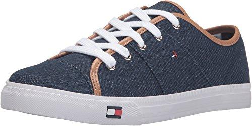 Tommy Hilfiger Women's Aerie Dark Blue Sneaker 10 M