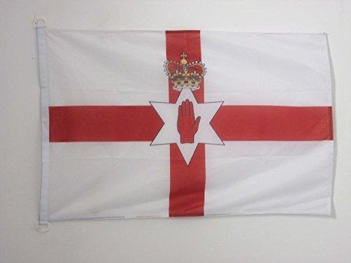AZ FLAG Northern Ireland Nautical Flag 18'' x 12'' - Irish Flags 30 x 45 cm - Banner 12x18 in for Boat