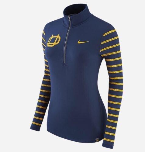 NIKE Oregon Ducks Dri-Fit Women's Webfoots Element 1/2 Zip Jacket (X-Large)