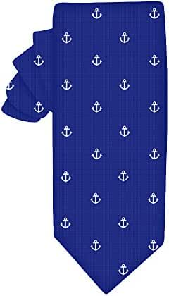Anchor Skinny Tie | 5 Year Warranty | Gifts for Men | Groomsmen Accessories