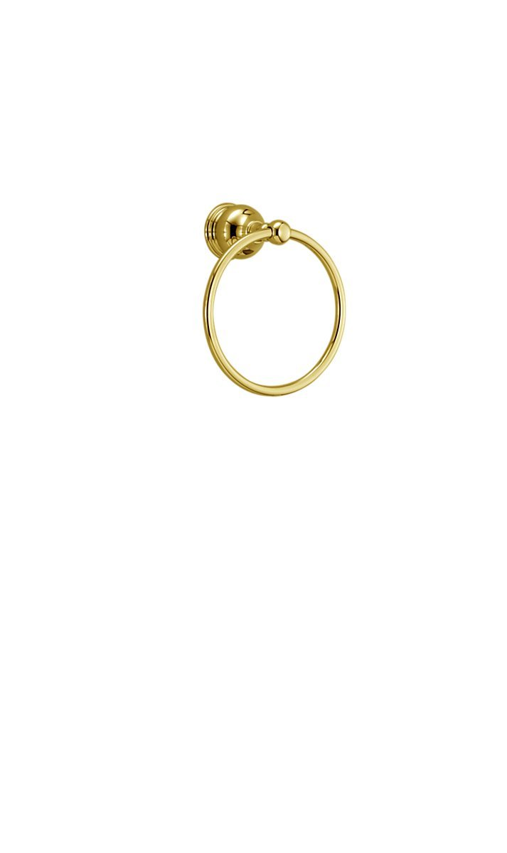 Delta Faucet 74046-PB Towel Ring, Polished Brass by DELTA FAUCET B001AHTM4M光沢真鍮