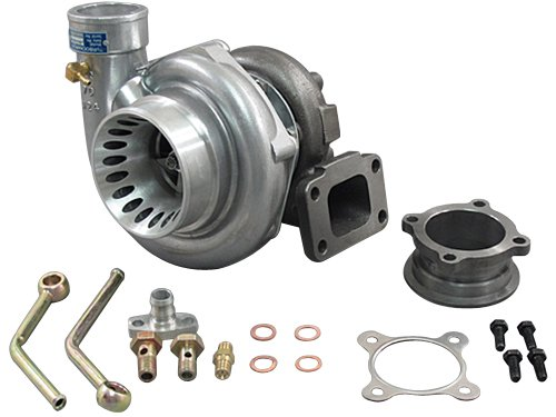 Price comparison product image GT35 T3 Turbo Charger Anti-Surge 500+ HP + Oil V-Band