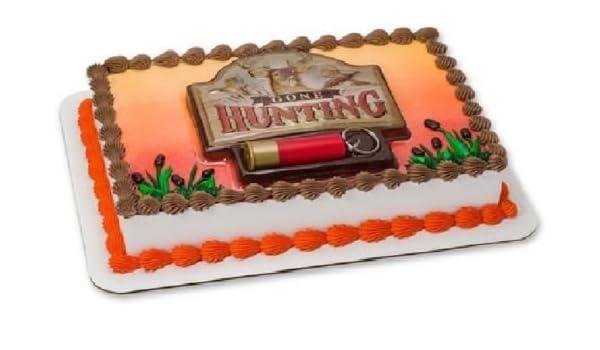 Admirable Amazon Com Cakedrake Gone Hunting Shotgun Shell Deer Ducks Cake Birthday Cards Printable Inklcafe Filternl