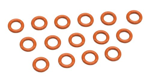 - Kyosho ORG06 P6 Silicone O-Ring (15 Piece), Orange