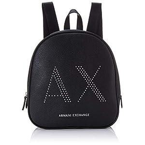 Armani Exchange Pebble With Studs, Sac à main à bretelles pour port en sac à dos