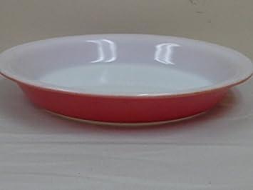 Amazon.com Vintage Pyrex Flamingo Pink Pie Plate 209 Pie Pans Kitchen \u0026 Dining & Amazon.com: Vintage Pyrex Flamingo Pink Pie Plate 209: Pie Pans ...