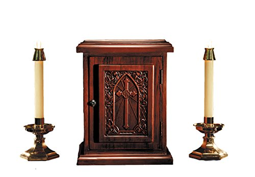 IHS Cross Maple Hardwood Tabernacle by Autom