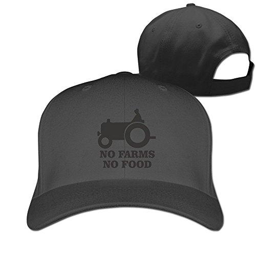 Price comparison product image Outdoor Sport No Farms No Food Farmer Truck Ajustable Hunting Peak Cap Hat Black