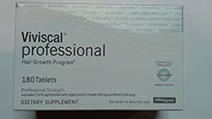Viviscal Professional Hair Growth Program Dietary Supplement, 180 Count