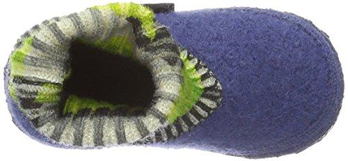 Giesswein Kastl - Pantuflas Sin Forro Para Niños Azul (Jeansblau)