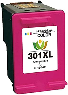 Arink Remanufacturado HP 301XL 301 Cartuchos de tinta 1Tricolor ...