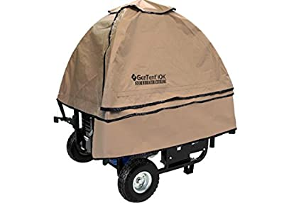 GenTent 10k Generator Tent Running Cover - Universal Kit - 3000w-10000w Portable Generators from GenTent Safety Canopies