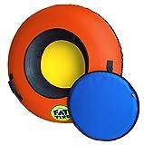 Fat Tire Snow Tube (Deluxe Edition) - Neon Orange
