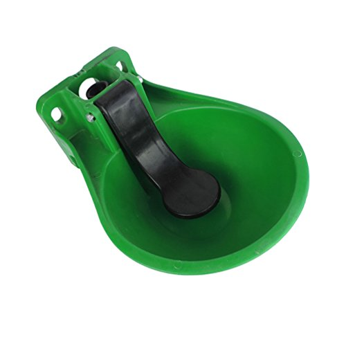 Lucky Farm Automatic Water Trough Bowl for Cattle Horse Goat Sheep Dog Plastic Animal AUTO Fill by Lucky Farm (Image #1)