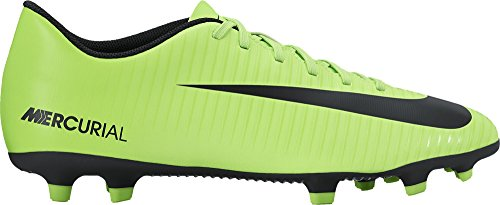 Nike Mercurial Vortex Iii Fg, Zapatillas Deportivas para Interior para Hombre, Verde, UK Verde (Electric Green/black/flash Lime/white)