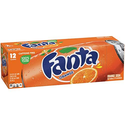 (Fanta Orange, 12 fl oz, 12 Pack)